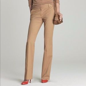 J. Crew Cafe Trouser in Super 120s | Size 0